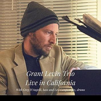 Grant Levin Trio, Live in California