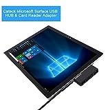 Cateck concentrateur USB pour Surface Microsoft, USB 3.0 à Haut débit avec 2...