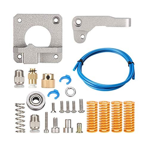 JIAN LIN Extruder Feeder Kit For Ender 3 CR10 Extruder Kit Aluminum Block Extruder for 1.75mm Filament for Reprap Extrusion (Color : CR10 right hand)