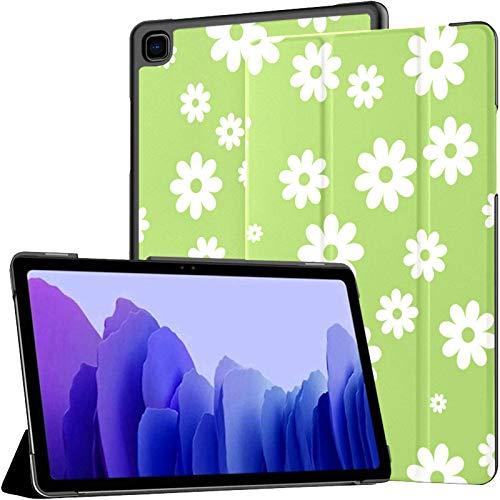 Funda para Tableta Samsung Galaxy Tab A7 de 10,4 Pulgadas 2020 (sm-t500 / t505 / t507), Funda con Soporte de ángulo múltiple Daisy con activación/suspensión automática