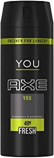 AXE You Deodorant and Body Spray for Men, 150 ml