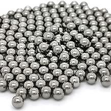 300 Pieces Polish Mixing Agitator Balls Stainless Steel Mixing Balls Rust-Proof Paint Mixing Balls for Mixing Nail Polish Model Paints,6.25 mm