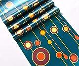 Des traînées de billes fond d'écran flash KTV PVC papier peint barre 3D fond de mur décoration papier peint@S5_10mx53cm