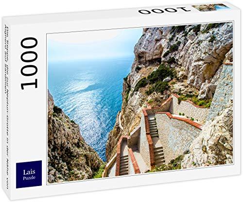 Lais Puzzle Le scale che portano alla Grotta di Nettuno vicino ad Alghero in Sardegna 1000 Pezzi