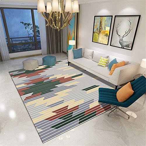 Kunsen alfombras Infantiles Juegos alfombras Exterior Jardin Alfombra Corta Gris Sala de Estar Comedor Comodidad Comodidad alfombras Grandes 200X280CM 6ft 6.7' X9ft 2.2'