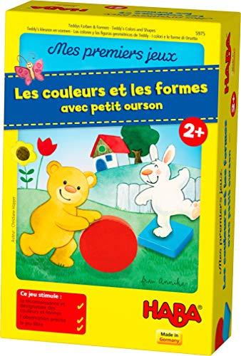 Haba–Mis primeros juegos–Los Colores Y Las Formas Con Pequeño Oso, 005975 , color/modelo surtido