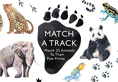 Match a Track: Match 25 Animals to Their Paw Prints (Magma for Laurence King) (Misc. Supplies)