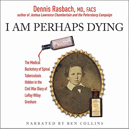 I Am Perhaps Dying audiobook cover art