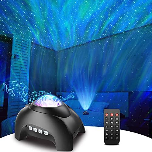 Star Projector, Rossetta Galaxy Projector for Bedroom, Bluetooth Speaker...