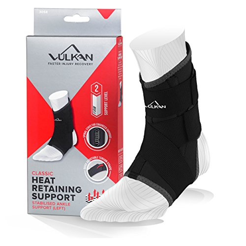 Vulkan Classic Ankle Stabilising Support, Left - SS20