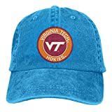 Virginia Tech Hokies Virginia Polytechnic Institute and State University Casquette Classic Cowboy Hat Adjustable Baseball Cap