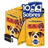 Pedigree Alimento Húmedo Razas Pequeñas Res en Filetes, paquete de 10 sobres