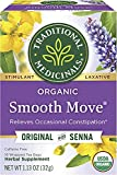 Traditional Medicinals Organic Smooth Move Tea, 96 Tea Bags (Pack of 6)