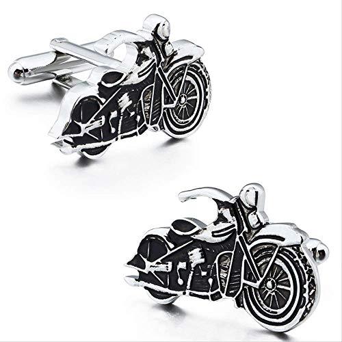 XKSWZD Manschettenknöpfe Personalisierte Stil Manschettenknöpfe Motorrad/Motorrad Manschettenknöpfe für Manschetten/Shirts Geschenk Zubehör für Männer