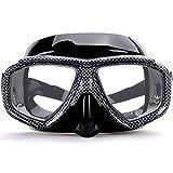 MHSHKS Máscara De Buceo con Esnórquel Gafas De Snorkel Máscara De Esnórquel De Fácil Respiración De Cara Completa para Adultos O Niños Antivaho Antifugas (Color : B)