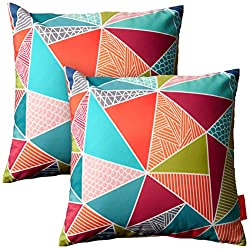 Modern outdoor throw pillows