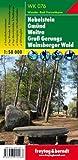 Freytag Berndt Wanderkarten, WK 076 Nebelstein - Gmünd - Weitra - Groß Gerungs - Weinsberger Wald - Maßstab 1:50.000 (freytag & berndt Wander-Rad-Freizeitkarten)