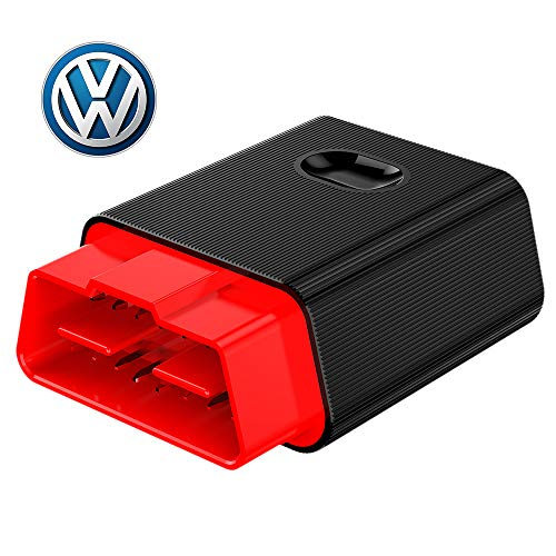NEXAS OBD2 Scanner Bluetooth F600 Auto Code Reader for VW/Audi/Skoda/Seat Full-System Diagnostic Tool with ABS/Engine/Transmission/Oil Reset for iPhone & Android
