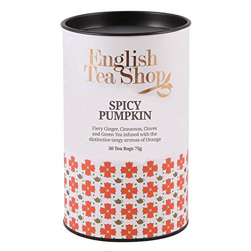 English Tea Shop - Spicy Pumpkin, BIO, 50 Teebeutel in Dose (Winter Collection)