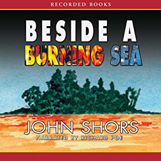 Beside a Burning Sea audiobook cover art