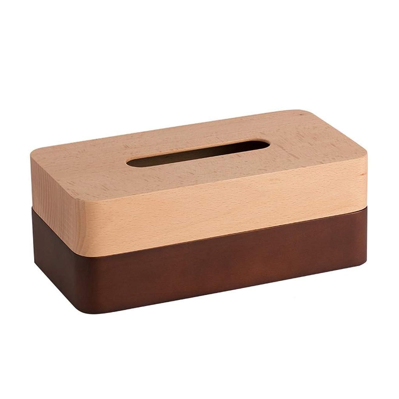 れるつまらないはっきりとZTT-TT ティッシュコンテナ 装飾デスクトップデコレーション木製ティッシュボックスリビングルームコーヒーテーブル家庭用トレイの贈り物(カラー:BROWN、サイズ:12.5 * 23.5 * 9CM / 4×9×3インチ) ボックス