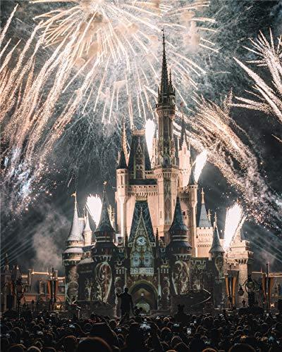 NO BRAND Puzzles De 1000 Piezas para Infantiles Castillo-Disney-3428278 Art Pictures Living Room Decor Juguetes Divertidos Juegos Gran Regalo Educativo para Niños