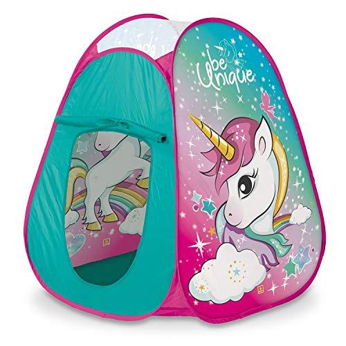Mondo- Tienda Campaña Pop Up Unicornio Tent, 28520, Multicolore
