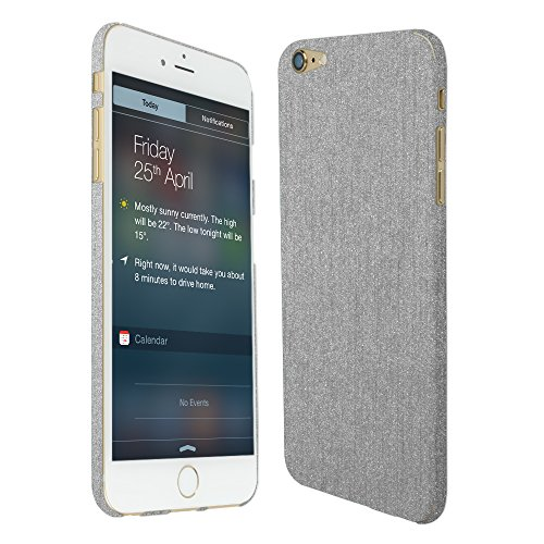 Skinomi Brushed Aluminum Full Body Skin Compatible with Apple iPhone 6 Plus...