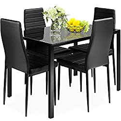 Giantex 5 Piece Kitchen Dining Table Set