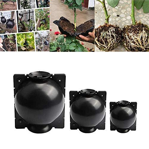 3er Pack Pflanzenkugeln, Wurzelvorrichtung, Hochdruckkugelboxen, Aufzuchttasche für verschiedene Pflanzen