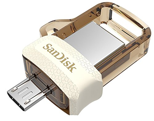 SanDisk Ultra Dual 64GB USB 3.0 OTG Pen Drive (Gold)