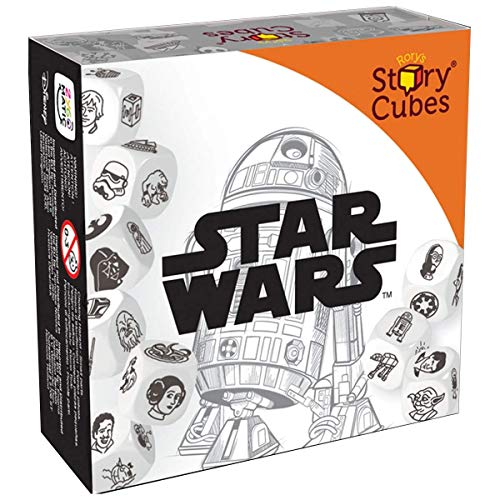 Asmodee Zygomatic ASMD0067 Story Cubes Star Wars, Familien-Spiel, Deutsch