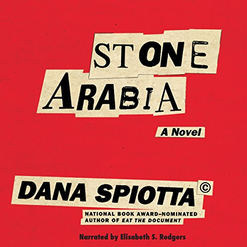 Stone Arabia audiobook cover art