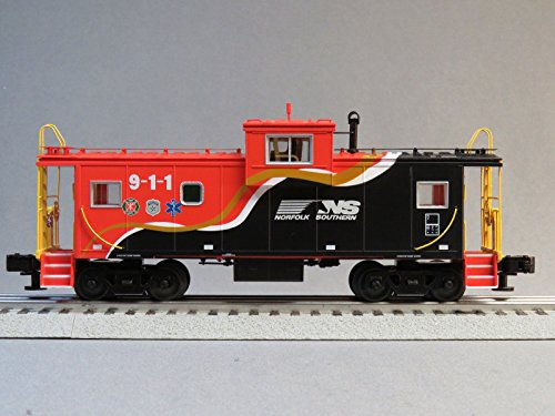 LIONEL NORFOLK SOUTHERN WIDE VISION FIRST RESPONDERS CABOOSE o gauge