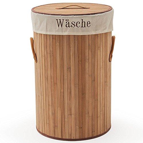 SSITG wasmand bamboe wasverzamelaar wasmand wasbox 70L waston box