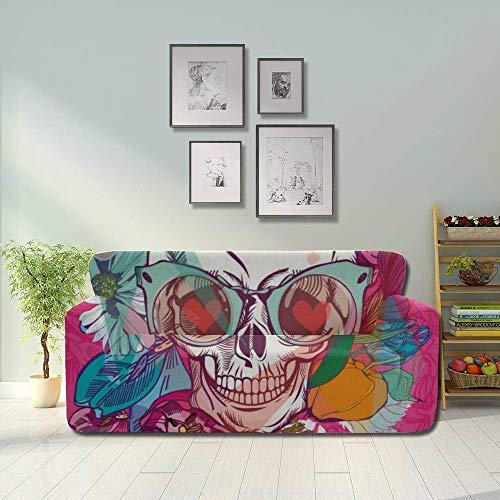 JIUCHUAN Head Skull Mexico America Style Modern Sofa Cover Cover Furniture...