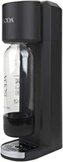 iSoda 32-01 Eco Plus Carbonated Soda Maker, Black Matte