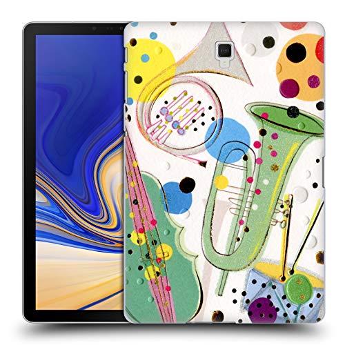 Head Case Designs Offizielle Turnowsky Music Box Anna B Harte Rueckseiten Huelle kompatibel mit Galaxy Tab S4 10.5 (2018)