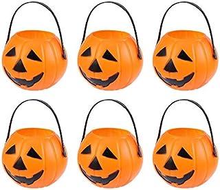 pour Que Les Enfants Apportent des Bonbons Et des Cadeaux Pendant lHalloween Senteen Sacs De Bonbons dhalloween 4Pcs Panier De Bonbons dhalloween Sac De Citrouille Halloween Sac De Bonbons