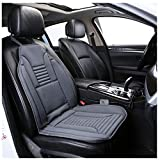 Heated Seat Cushion, Heating Seat Covers for Cars, 12V Universal Truck Seat Heater Seat Warmer for Car, Truck, Home Office Chair (Gray)