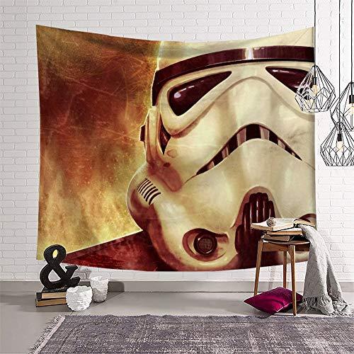 KOREYOSHIX Tapiz de Star Wars con temática de película para decoración de pared de apartamento, hogar, dormitorio, tapices de 230 x 180 cm