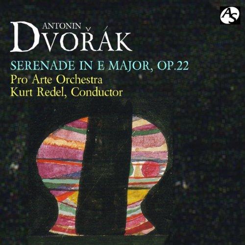 ドヴォルザーク:弦楽セレナード/プロ・アルテ管弦楽団