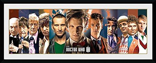 GB eye LTD, Doctor Who, 11 Doctors, Fotografía enmarcada, 75 x 30 cm