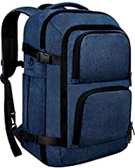 AMPLE SPACE AND REASONABLE DESIGN: Dimensional design meets the maximum size allowed by IATA flights, easy to carry around; Capacity: 40 L;Backpack size:50*35*25 CM/19.6*13.8*9.8 INCH; Main compartment size:50*32*14CM/19.7*12.6*5.5INCH;Suitable for 1...