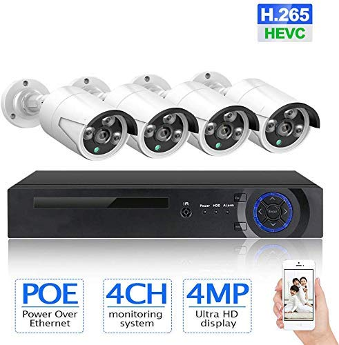 Why Should You Buy 8CH 4MP FHD WiFi Wireless CCTV Camera System Poe Nvr Kit,Bullet IP Security Camer...