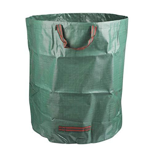 YOTIN 1er Set Gartensack,272 L Gartenabfallsack aus Robustem Selbststehend und Faltbar - Abfallsäcke für Gartenabfälle Laub Rasen Pflanz Grünschnitt Wasserdichtes Polypropylen-Gewebe (PE)