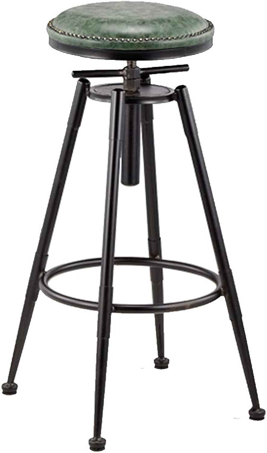 Vintage Swivel Bar Stools Faux Leather Breakfast Kitchen Pub Barstools   Counter Height Metal Stool for Bars, Bistro Patio & Cafe   Best Home Garden Chairs   Indoor & Outdoor Use