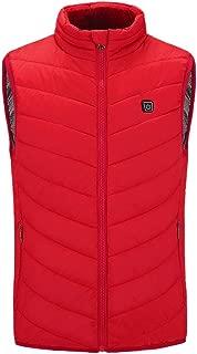 Sunhusing Winter Men Multi-Color Leisure Warm Gilet Vest Male Pure Color Padded Cotton Waistcoat Warm Down Outwear