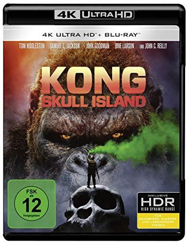Kong: Skull Island (4K Ultra HD + 2D-Blu-ray) (2-Disc Version) [Blu-ray]