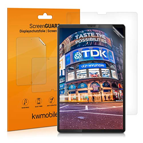 kwmobile 2x Screen Protector Compatible with Lenovo Tab M10 FHD Plus (2. Gen) - Clear Anti-Scratch Display Film for Tablet Screen - Set of 2